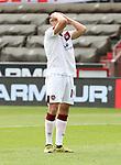 nph0001:  17.05.2020 --- Fussball --- Saison 2019 2020 --- 2. Fussball - Bundesliga --- 26. Spieltag: FC Sankt Pauli - 1. FC Nürnberg ---  DFL regulations prohibit any use of photographs as image sequences and/or quasi-video - Only for editorial use ! --- <br /> <br /> Michael Frey (14, 1. FC Nürnberg ) <br /> Foto: Daniel Marr/Zink/Pool//via Kokenge/nordphoto