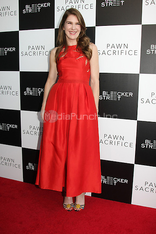 "LOS ANGELES - SEP 8: Lily Rabe at the ""Pawn Sacrifice"" LA Premiere at the Writer's Guild Theater on September 8, 2015 in Beverly Hills, CA Credit: David Edwards/MediaPunch"