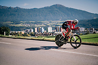 Georg Preidler (AUT/Sunweb)<br /> <br /> MEN ELITE INDIVIDUAL TIME TRIAL<br /> Hall-Wattens to Innsbruck: 52.5 km<br /> <br /> UCI 2018 Road World Championships<br /> Innsbruck - Tirol / Austria
