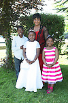 Janet Olagbaju with her family at the Marymount Communion...Photo NEWSFILE/Jenny Matthews.(Photo credit should read Jenny Matthews/NEWSFILE)....This Picture has been sent you under the condtions enclosed by:.Newsfile Ltd..The Studio,.Millmount Abbey,.Drogheda,.Co Meath..Ireland..Tel: +353(0)41-9871240.Fax: +353(0)41-9871260.GSM: +353(0)86-2500958.email: pictures@newsfile.ie.www.newsfile.ie.FTP: 193.120.102.198.