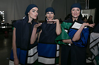 Zang Toi<br /> backstage at fashion show, New York Fashion Week Spring Summer 2019<br /> in New York, USA September 2018.<br /> CAP/GOL<br /> &copy;GOL/Capital Pictures