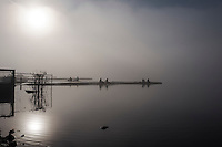Varese. Lombardia. ITALY. General View. Varese Rowing Club. [Canottieri Varese] Crews boating<br /> <br /> Thursday  22/12/2016 <br /> <br /> [Mandatory Credit; Peter Spurrier/Intersport-images]