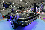 A replica of the DeLorean car from Back to the Future on display during the Tokyo Comic Con 2017 at Makuhari Messe International Exhibition Hall on December 1, 2017, Tokyo, Japan. This is the second year that San Diego Comic-Con International held the event in Japan. Tokyo Comic Con runs from December 1 to 3. (Photo by Rodrigo Reyes Marin/AFLO)