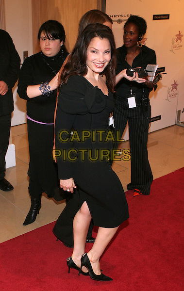 FRAN DRESCHER.8th Annual Lili Claire Foundation Benefit held at the Beverly Hilton Hotel, Beverly Hills, California.  .October 15th, 2005.Photo Credit: Zach Lipp/AdMedia/Capital Pictures.Ref: Zl/ADM/CAP.full length black dress.www.capitalpictures.com.sales@capitalpictures.com.© Capital Pictures.