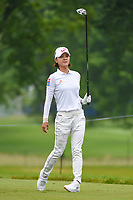 Na Yeon Choi (KOR) watches her tee shot on 12 during round 4 of the KPMG Women's PGA Championship, Hazeltine National, Chaska, Minnesota, USA. 6/23/2019.<br /> Picture: Golffile | Ken Murray<br /> <br /> <br /> All photo usage must carry mandatory copyright credit (© Golffile | Ken Murray)