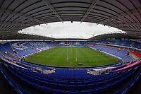 A general view of Madejski Stadium, home of London Irish<br /> <br /> Photographer Bob Bradford/CameraSport<br /> <br /> Aviva Premiership Round 20 - London Irish v Exeter Chiefs - Sunday 15th April 2018 - Madejski Stadium - Reading<br /> <br /> World Copyright &copy; 2018 CameraSport. All rights reserved. 43 Linden Ave. Countesthorpe. Leicester. England. LE8 5PG - Tel: +44 (0) 116 277 4147 - admin@camerasport.com - www.camerasport.com