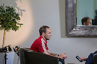 David Vaughan during a Wales media day ahead of the final pre Euro 2016 friendly match against Sweden, Vale Resort, Hensol, Wales on 1 June 2016. Photo by Mark  Hawkins / PRiME Media Images / PRiME Media Images.