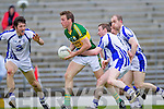 Donnchadh Walsh shakes off Waterford's Maurice O'Gorman last Saturday in Fitzgerald Stadium for the Munster GAA football championship