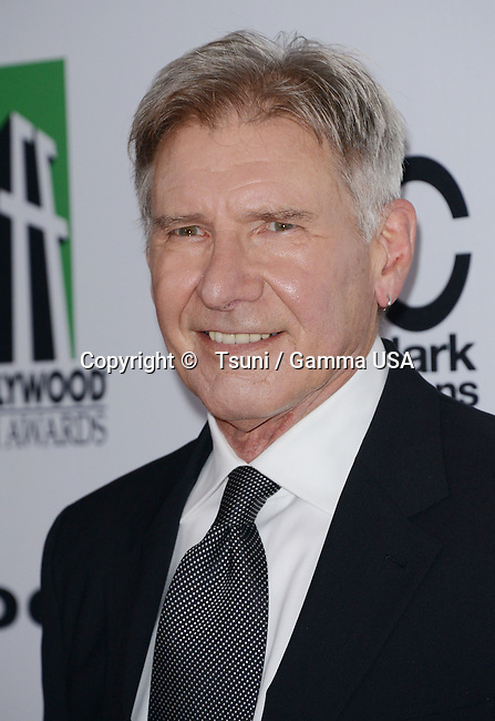 Harisson Ford  at the 17th Annual Hollywood Film Awards at the Beverly Hilton hotel.