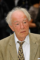 LONDON, ENGLAND - SEPTEMBER 12: Michael Gambon attending the World Premiere of 'King Of Thieves' at Vue West End, Leicester Square on September 12, 2018 in London, England.<br /> CAP/MAR<br /> &copy;MAR/Capital Pictures
