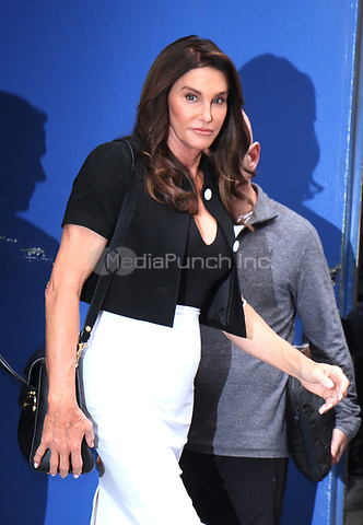 NEW YORK, NY - APRIL 24: Caitlyn Jenner seen exiting ABC studios after an appearance on Good Morning America in New York City on April 24, 2017. Credit: RW/MediaPunch