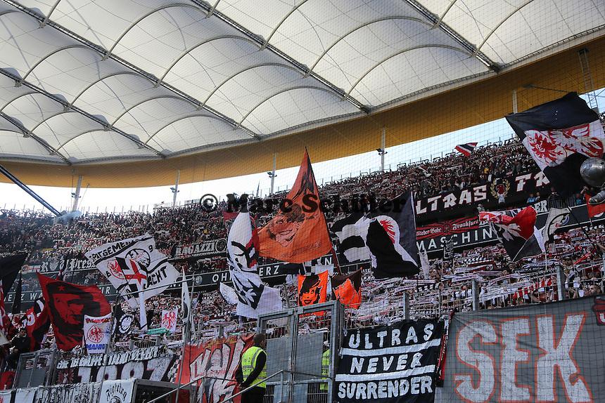 Fans von Eintracht Frankfurt  - Eintracht Frankfurt vs. 1. FC Nuernberg,