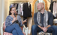 PACIFIC PALISADES, CA -June 28: Felicia Tomasko, Blake Shields Abramovitz, at Elisabeth Rohm ihosts a RESPECT TALK on How To Cultivate More Bliss in Today's World at Veronica Beard in Pacific Palisades California on June 28, 2020. Credit: Faye Sadou/MediaPunch