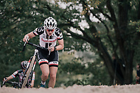Lucinda Brand (NED/Sunweb)<br /> <br /> Women's Elite race<br /> <br /> UCI cyclocross World Cup Koksijde / Belgium 2017