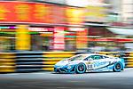 Keita Sawa races the Macau GT Cup during the 61st Macau Grand Prix on November 16, 2014 at Macau street circuit in Macau, China. Photo by Aitor Alcalde / Power Sport Images