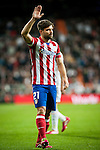 Santiago Bernabeu. Madrid. Spain. 05.02.2014. Football match between Real Madrid and Atletico de Madrid. Diego Ribas