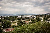Makedonien. Skopje og Ohrid. Skopje fodboldstadion. Foto: Jens Panduro