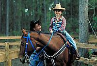 Equestrian 7. Father & daughter. Douglaston NY.