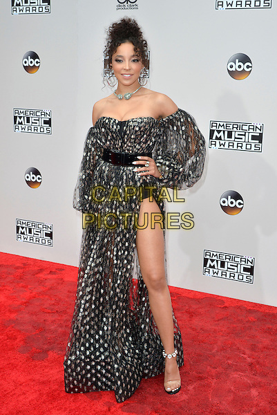 LOS ANGELES, CA - NOVEMBER 20: Tinashe at the 44th Annual American Music Awards at the Microsoft Theatre in Los Angeles, California on November 20, 2016. <br /> CAP/MPI/KSR<br /> &copy;MPIKSR/Capital Pictures