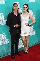 Booboo Stewart and Fivel Stewart at the 2012 MTV Movie Awards held at Gibson Amphitheatre on June 3, 2012 in Universal City, California. © mpi29/MediaPunch Inc.
