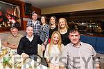 front l-r Donal McCarthy, Donal McCarthy, Jr., Brid O'Mara, John O'Mara, Back l-r Eoin McCarthy, Deirdre McCarthy, Caroline McCarthy, Brid McCarthy enjoying the new year at Benners Hotel on Saturday