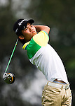 Yuki Osafune of Japan tees off during the 2011 Faldo Series Asia Grand Final on the Faldo Course at Mission Hills Golf Club in Shenzhen, China. Photo by Raf Sanchez / Faldo Series