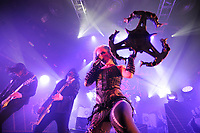 LONDON, ENGLAND - FEBRUARY 11: Michael Amott, Sharlee D'Angelo and Alissa White-Gluz of 'Arch Enemy' performing at KOKO on February 11, 2018 in London, England.<br /> CAP/MAR<br /> &copy;MAR/Capital Pictures