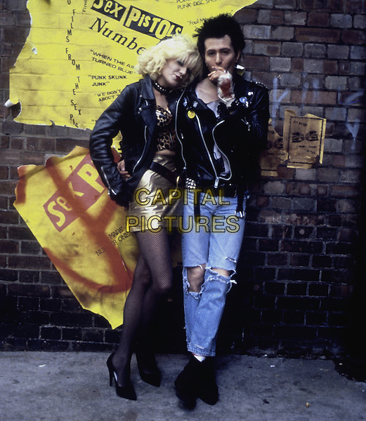Sid and Nancy (1986) <br /> Chloe Webb, Gary Oldman<br /> *Filmstill - Editorial Use Only*<br /> CAP/KFS<br /> Image supplied by Capital Pictures