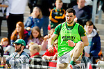 Mike Geaney Kerry in action against  Cork in the National Football league in Austin Stack Park, Tralee on Sunday.