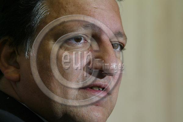 BRUSSELS - BELGIUM - 12 OCTOBER 2005 -- President Jos? (Jose) Manuel BARROSO, EU Commission.  PHOTO: ERIK LUNTANG / EUP-IMAGES