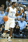 09 November 2012: North Carolina's Dexter Strickland. The University of North Carolina Tar Heels played the Gardner-Webb University Runnin' Bulldogs at Dean E. Smith Center in Chapel Hill, North Carolina in an NCAA Division I Men's college basketball game. UNC won the game 76-59.