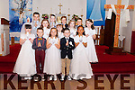 Children from Mr O'Sé's second class who made their Holy Communion in St Mary's Church, Castlegregory on Saturday May 9th.