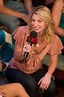 """Toronto (ON), July 25, 2007 - Hollywood actress and star Claire Danes on """"MTV Live"""" Wednesday, July 25 talking to hosts Daryn Jones and Jessi Cruickshank about the theatrical release of her latest film, Stardust, which hits theatres August 10th. <br /> <br /> photos : by Cody Bokshowan - Images Distribution"""