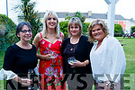 Mary Rose Stafford, Jane Last, Celine Crawford and Claire Ronan, attending the Women in Media event, in Ballybunion on Saturday last.