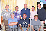The Faha Court golf team that won the Listry GAA golf classic in Killorglin Golf course on Saturday front row: Mike Breen, Stephen Foley and Fergus O'Connor. Back row: Noel O'Sullivan, John Wrenn, John Joe Courtney, Anthony Clifford and Denis Courtney