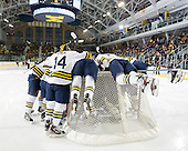 The University of Michigan ice hockey team lost to Western Michigan University, 4-1, at Yost Ice Arena in Ann Arbor, Mich., on December 14, 2012.