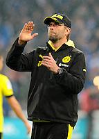 FUSSBALL   1. BUNDESLIGA   SAISON 2012/2013    25. SPIELTAG FC Schalke 04 - Borussia Dortmund                         09.03.2013 Trainer Juergen Klopp (Borussia Dortmund) ist nach dem Abpfiff enttaeuscht