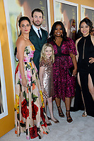 Actors Jenny Slate, Chris Evans, Octavia Spencer, Jona Xiao &amp; McKenna Grace at the premiere for &quot;Gifted&quot; at The Grove. Los Angeles, USA 04 April  2017<br /> Picture: Paul Smith/Featureflash/SilverHub 0208 004 5359 sales@silverhubmedia.com