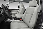 Front seat view of 2017 Toyota Sequoia SR5 5 Door SUV Front Seat  car photos