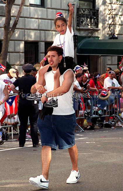 Puerto Rican Day parade in New York. June 10, 2001. Please byline: Alecsey Boldeskul/NY Photo Press.   ..*PAY-PER-USE*      ....NY Photo Press:  ..phone (646) 267-6913;   ..e-mail: info@nyphotopress.com