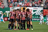 Portland, OR - Sunday, August 11, 2019: Portland Thorns vs North Carolina Courage at Providence Park.