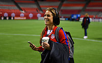 Vancouver, Canada - Thursday November 09, 2017: Kelley O'Hara during an International friendly match between the Women's National teams of the United States (USA) and Canada (CAN) at BC Place.