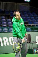 14-02-13, Tennis, Rotterdam, ABNAMROWTT, Practise, Gabriel Markus