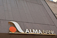 A Alma Bank branch is pictured in New York City, NY Tuesday August 2, 2011. Alma Bank is a small bank company doing business in the States of New York and New Jersey.