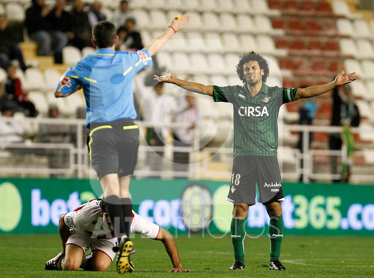 Betis' Iriney Santos during La Liga match.March 17,2012. (ALTERPHOTOS/Acero)