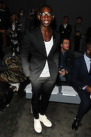Tinie Tempah at front row for the TOPMAN Designs show as part of London Collections Men AW14, London.  06/01/2014 Picture by: Steve Vas / Featureflash