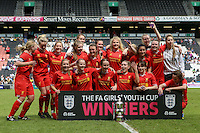 Everton v Liverpool - FA Girls Youth Cup 2014/15 - 01/06/2014