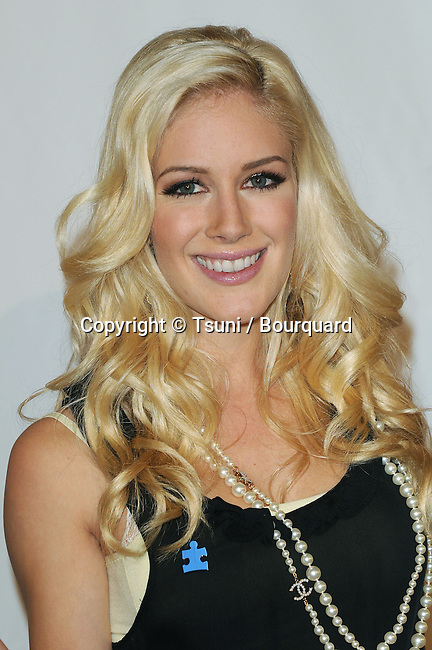 Heidi Montag  -<br /> 6th Annual Act Of Love to Benefit Autism Speak at the Geffen Theatre in Los Angeles.