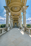 Europe, Austria, Vienna, Schonbrunn Palace, Cafe Gloriette Side Entrance