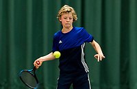 Wateringen, The Netherlands, March 9, 2018,  De Rijenhof , NOJK 12/16 years, Marcus van den Bergen (NED)<br /> Photo: www.tennisimages.com/Henk Koster